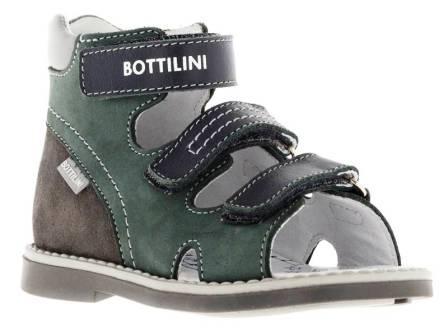 Bottilini Сандалии (р.27-30)  SO-157(10) т.серый (поступление 10.05.2021г.) цена 2550руб.