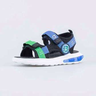 КОТОФЕЙ 521047-12 чер-син туфли пляжные дошкольно-школьные текстиль (поступление 18.06.2021г.) цена 1890руб.
