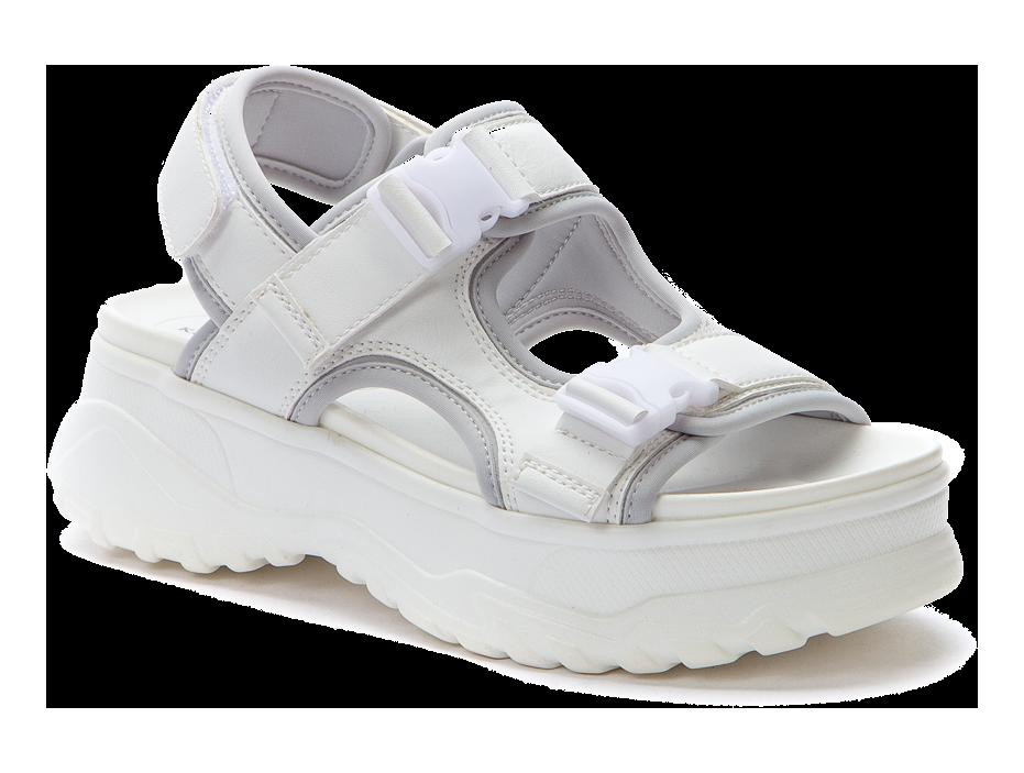 KEDDO 517655/06-06 белый/серый  детские (для девочек) туфли открытые (поступление 07.05.2021г.) цена 2650руб.