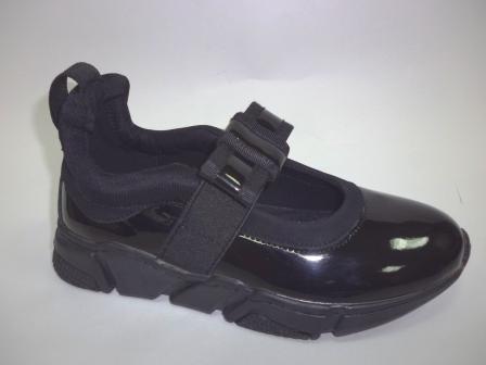 KEDDO  598225/73-02 черный детские (для девочек) полуботинки  (поступление 06.08.2019г.) цена  1800руб.