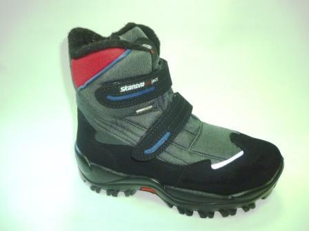 SKANDIA ботинки детские , цвет серый амаркорд(TuonoAmarcord_BlackGrey),  размер 35-39, (Арт. 9310R)  (поступление 24.09.2019г.)  цена  5600руб.