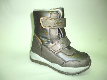 KAPIKA Ботинки текстиль (бронзовый) р.28-32  42329-1 (бронзовый) (поступление 28.10.2019г.)  цена  3100руб.
