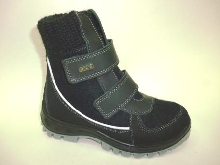 КОТОФЕЙ 757000-41 черный ботинки школьно-подростковые войлок, 32-40  (поступление 04.11.2019г.)  цена  3250руб.
