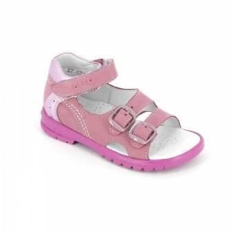 ТОТТА Туфли открытые детские, М10212-кожанная подкладка, открытый носок; 020,0109 (м10212-КП-020,0109 сирень) (поступление 25.05.2020г.)  цена  2300руб.