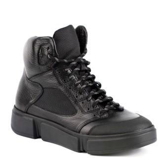 Shagovita Ботинки для мальчика 20СМФ 32-37 Мальчик черный  55265Б  (поступление 10.09.2020г.) цена 3500руб.
