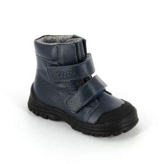 ТОТТА  Ботинки малодетские, М3381-байка подкладка 3381-712 синий (поступление 17.09.2020г.) цена 2250руб.