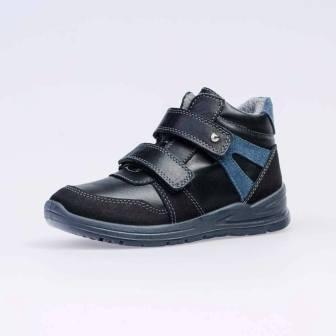 КОТОФЕЙ 552226-32 черный ботинки дошкольно-школьные Нат. кожа, 30-35 (поступление 18.09.2020г.) цена 3400руб.