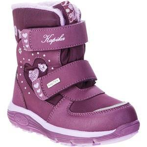 KAPIKA Ботинки текстиль (фиолетовый) р.28-32  42370-1  (поступление 25.09.2020г.) цена 3050руб.