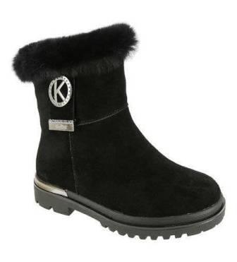 KENKÄ TQP_5253-74_black N ботинки (34-38) (поступление 02.10.2020г.) цена 3990руб.