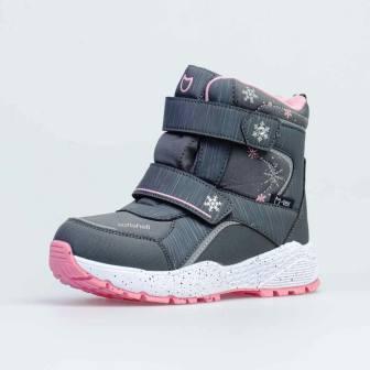 КОТОФЕЙ 654820-42 серый ботинки школьные Комбинирован. 32-35 (поступление 20.11.2020г.) цена 3100руб.