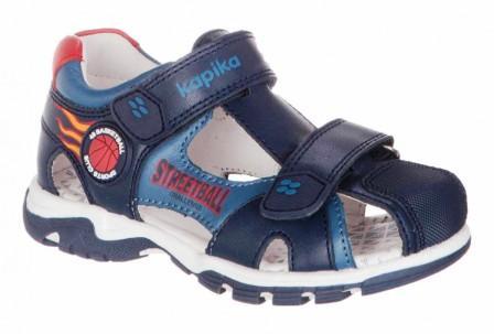 KAPIKA  Туфли летние (синий) р.25-29  32630-1 (поступление 07.12.2020г.) цена 2690руб.