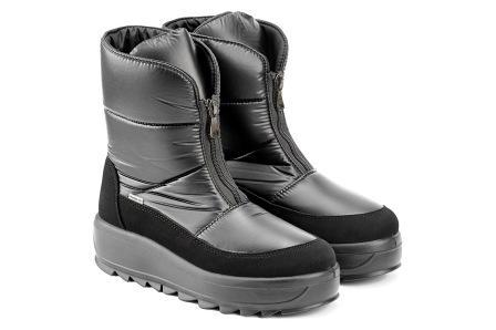 SKANDIA ботинки женские, цвет черный балтико,  размеры 36-40, (Арт. 12169DR) (поступление 23.09.2021г.) цена 7100руб.