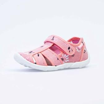КОТОФЕЙ 421064-11 розовый туфли летние дошкольные текстиль, 27-31 (поступление 05.03.2021г.) цена 920руб.