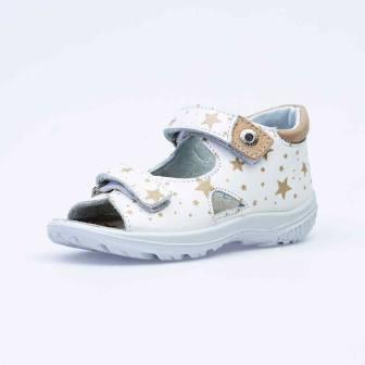 КОТОФЕЙ 22108-21 белый туфли летние малодетско-дошкольные нат. кожа (поступление 07.05.2021г.) цена 2750руб.