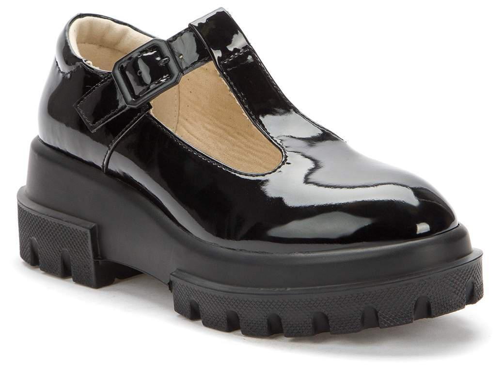KEDDO 518276/08-01 черный детские (для девочек) туфли (поступление 27.07.2021г.) цена 2350руб.