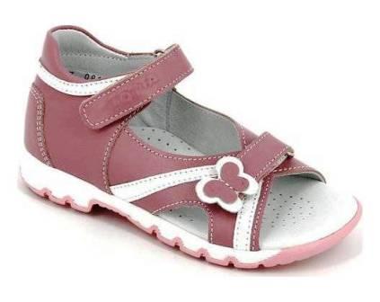 ТОТТА Туфли открытые детские, М1083-кожаная подкладка, 1083-217,99 (ирис/белый) (поступление 19.08.2021г.) цена 2490руб.