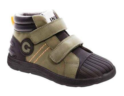NDIGO KIDS 55-0032B/10 Ботинки детские (черный / хаки, р.32-36) (поступление 11.09.2021г.) цена 2700руб.