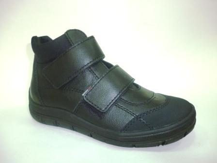 Лель  м 6-054 Ботинки школьные байка (хром, черный)  м 6-054 (поступление 02.09.2019г.)  цена  3400руб.