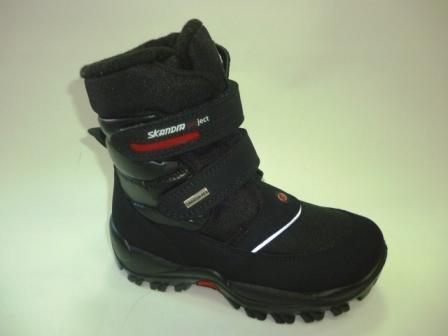 SKANDIA ботинки детские , цвет черный амаркорд(TuonoAmarcordBaltico_Black),  размер 32-34,  (Арт.9311R)  (поступление 24.09.2019г.)  цена  5600руб.