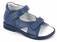 ТОТТА Туфли открытые детские, М10216-кожанная подкладка, открытый носок; 3,13 (м10216-КП-3,13 джинс) (поступление 25.05.2020г.)  цена  2300руб.