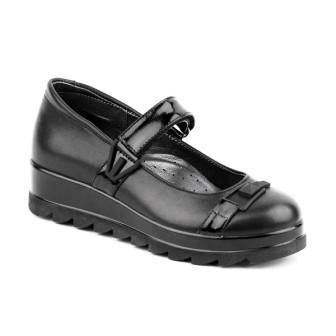 Shagovita Туфли для девочки черный 20СМФ 38-39 Девочка  63252-1 черный  (поступление 31.07.2020г.) цена 3300руб.