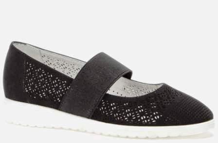 BETSY  908323/02-01 черный иск.нубук/текстиль детские (для девочек) туфли (поступление 14.08.2020г.) цена 2150руб.
