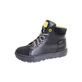 Лель м 6-1560 Ботинки школьные байка (черный) (поступление 24.08.2020г.) цена 3800руб.