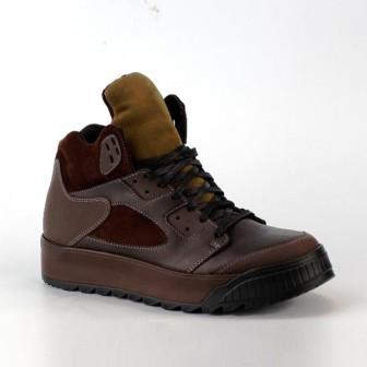 Shagovita Ботинки для мальчика 20СМФ 32-37 Мальчик коричневый  55300Б  (поступление 10.09.2020г.) цена 3550руб.