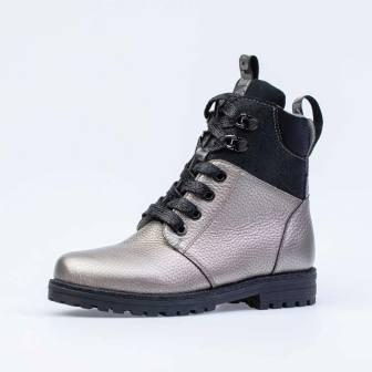 КОТОФЕЙ 652164-32 бронзовый ботинки школьные Нат. кожа, 36-37,5 (поступление 18.09.2020г.) цена 3600руб.