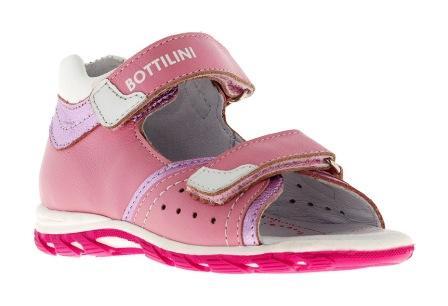 Bottilini Сандалии цвет розовый (р.22-25)  SO-118(13) (поступление 02.10.2020г.) цена 2300руб.