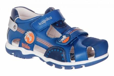 KAPIKA Туфли летние (синий) р.26-31  32645к-1 (поступление 07.12.2020г.) цена 2700руб.