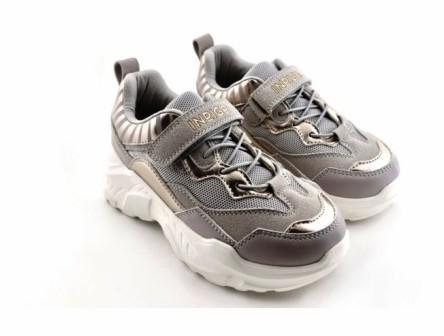 """П/ботинки детские TM""""INDIGO KIDS"""" , р.36-39  92-051D/8 серый/золото (поступление 18.02.2021г.) цена 2300руб."""