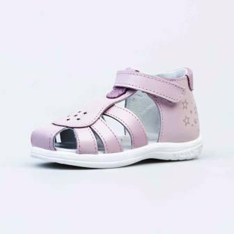 КОТОФЕЙ 322134-22 розовый туфли летние малодетско-дошкольные нат. кожа (поступление 07.05.2021г.) цена 2750руб.
