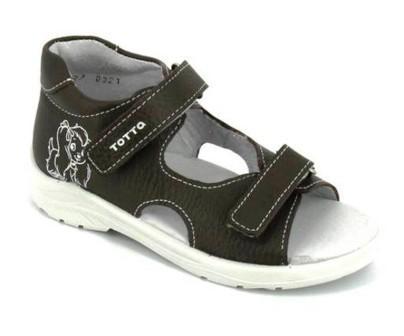 ТОТТА Туфли открытые детские, М1144-кожанная подкладка, арт. 1144-710 (серо-сиреневый) (поступление 07.05.2021г.) цена 1890руб.