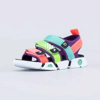 КОТОФЕЙ 524081-12 цветной туфли пляжные дошкольно-школьные  (поступление 18.06.2021г.) цена 1890руб.