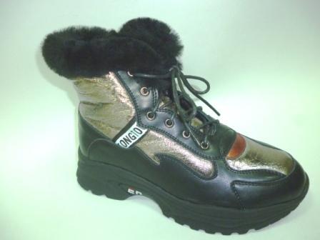 BI&KI A-B004-66-A Ботинки девоч.34-39 Чёрный   (поступление 30.09.2019г.)  цена  3600руб.