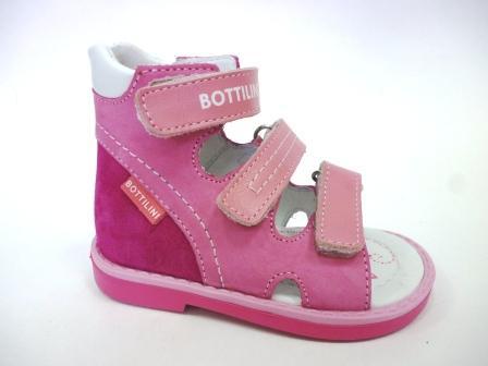 Bottilini SO-157(7) Сандалии цвет розовый (р.22-25)  (поступление 12.03.2020г.)  цена  2250руб.