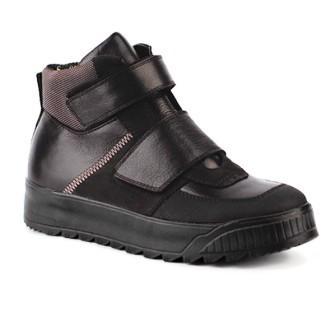 Shagovita  Ботинки для мальчика 20СМФ 32-37 Мальчик черный-черный  55305Б (поступление 10.09.2020г.) цена 3550руб.