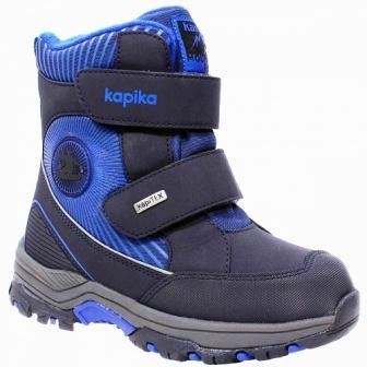 KAPIKA  Ботинки (т.синий) р.31-35  43324-2 (поступление 09.10.2020г.) цена 3300руб.