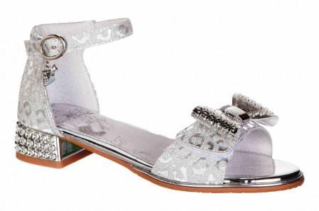 KAPIKA Туфли летние (серебряный) р.31-35  33587п-1 (поступление 07.12.2020г.) цена 2200руб.