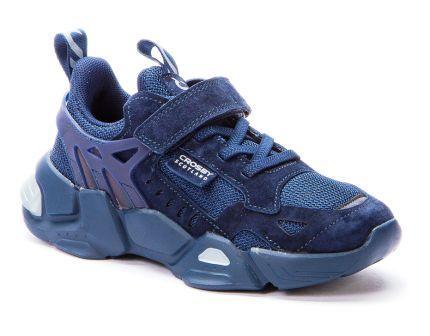 CROSBY 217208/02-03 синий детские полуботинки (поступление 16.04.2021г.) цена 2650руб.
