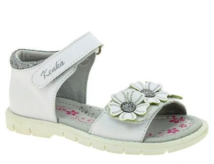 KENKÄ IZE_2036-2_white туфли летние (поступление 07.05.2021г.) цена 1600руб.