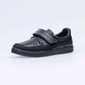 КОТОФЕЙ 732182-22 черный полуботинки школьно-подростковые нат.кожа,  36-40 (поступление 19.07.2021г.) цена 3500руб.