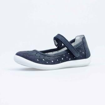 КОТОФЕЙ 632325-22 синий туфли школьные нат. кожа, 36-37,5 (поступление 30.07.2021г.) цена 2400руб.