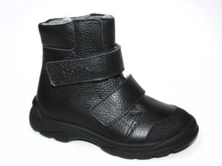 ТОТТА Ботинки дошкольные М338-байка подкладка; 701 (черный)  338-бп-701 (черный)  (поступление 23.07.2020г.) цена 2300руб.