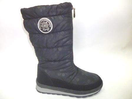 KAPIKA Мембрана Сапоги текстиль (черный) р.33-37  43218-4  (поступление 08.10.2019г.)  цена  3200руб.