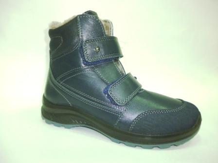 КОТОФЕЙ 752155-52 синий ботинки школьно-подростковые нат. кожа, 36-40    (поступление 09.10.2019г.)  цена  4100руб.