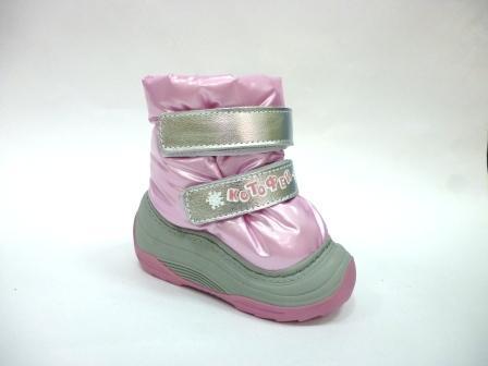 КОТОФЕЙ  061011-42 розовый сапожки ясельные текстиль, 21-23  (поступление 25.10.2019г.)  цена  1890руб.