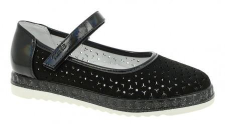 KENKÄ MYA_1369-11_black туфли (р.31-36) (поступление 25.08.2020г.) цена 1890руб.