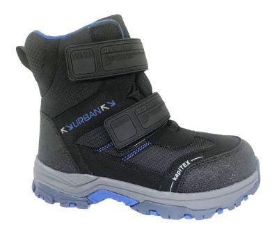 KAPIKA Ботинки (черный-синий) 33-37  43388-1  (поступление 25.09.2020г.) цена 3300руб.